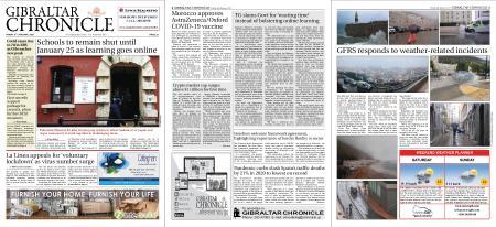 Gibraltar Chronicle – 08 January 2021