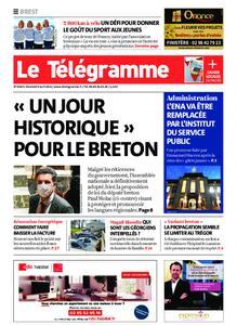 Le Télégramme Brest – 09 avril 2021
