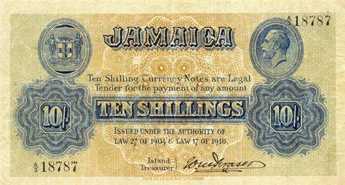 Банкноты всех стран мира! - Ямайка
