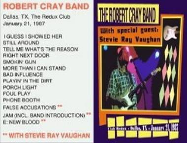 Robert Cray w Stevie Ray Vaughan - The Redux Club (1987)