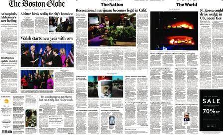 The Boston Globe – January 02, 2018