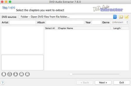 DVD Audio Extractor 8.0.0 macOS