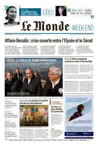 Le Monde du Samedi 23 Mars 2019