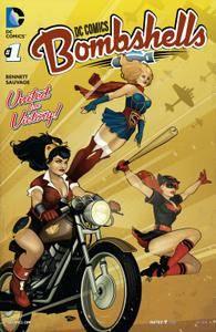 DC Comics - Bombshells Print Version 001 2015 digital 2 covers