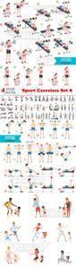 Vectors - Sport Exercises Set 8