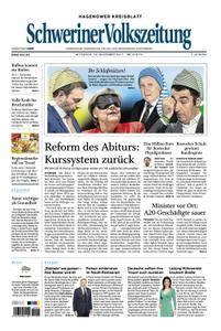 Schweriner Volkszeitung Hagenower Kreisblatt - 22. November 2017