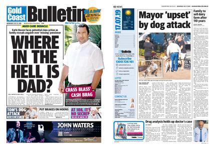 The Gold Coast Bulletin – July 17, 2019