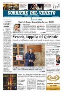 Corriere del Veneto Venezia e Mestre – 02 gennaio 2020