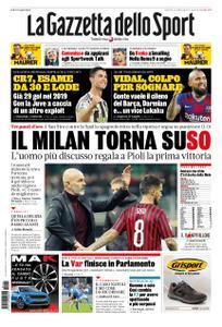La Gazzetta dello Sport Roma – 01 novembre 2019