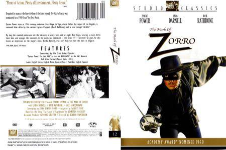The Mark of Zorro (1940) [Re-Up]