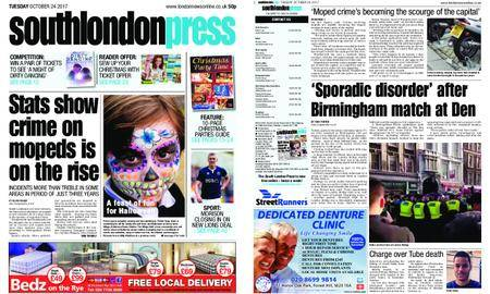 South London Press – October 24, 2017