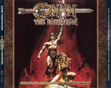 Basil Poledouris - Conan The Barbarian: The Complete Original Motion Picture Soundtrack (1982) 3 CDs Expanded Reissue 2012