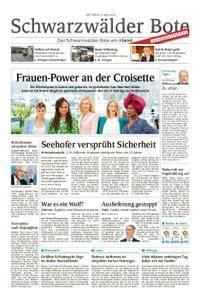 Schwarzwälder Bote St. Georgen, Triberg, Furtwangen - 09. Mai 2018