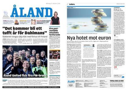 Ålandstidningen – 22 oktober 2018