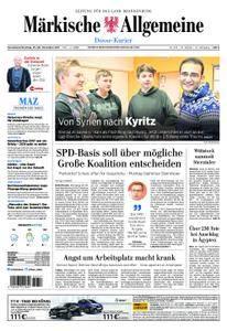 Märkische Allgemeine Dosse Kurier - 25. November 2017