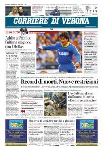 Corriere di Verona – 11 dicembre 2020