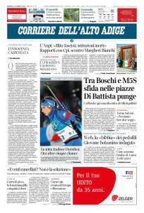 Corriere dell'Alto Adige - 11 Febbraio 2018