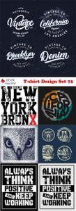 Vectors - T-shirt Design Set 72