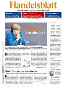 Handelsblatt - 08. August 2016