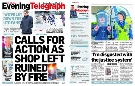 Evening Telegraph First Edition – March 04, 2019