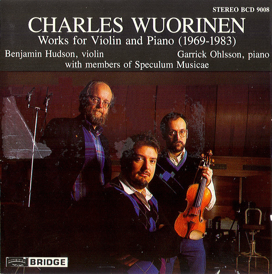 Charles Wuorinen - Works for Violin & Piano, 1969-1983 (1993)