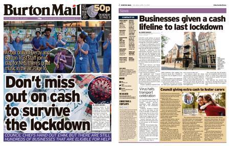 Burton Mail – April 25, 2020