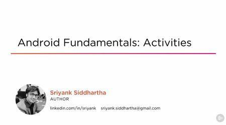 Android Fundamentals: Activities
