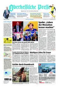 Oberhessische Presse Marburg/Ostkreis - 16. März 2018