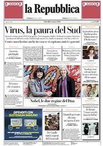 la Repubblica - 8 Ottobre 2020