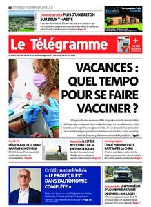 Le Télégramme Ouest Cornouaille – 12 mai 2021