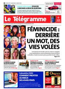 Le Télégramme Brest Abers Iroise – 25 novembre 2019