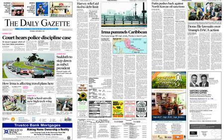 The Daily Gazette – September 07, 2017