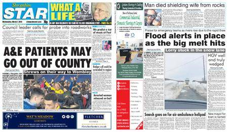 Shropshire Star Shrewsbury Edition – March 07, 2018