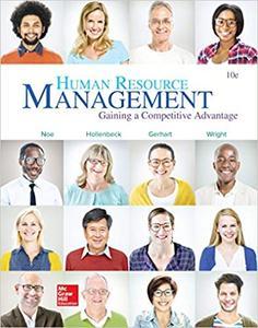 Human Resource Management 10th Edition