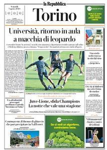 la Repubblica Torino - 7 Agosto 2020