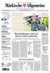 Neue Oranienburger Zeitung - 25. Oktober 2018
