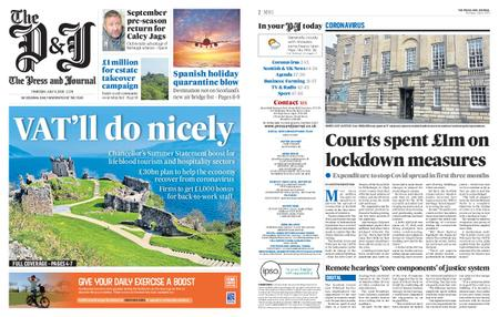The Press and Journal Moray – July 09, 2020