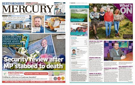 Hertfordshire Mercury Hoddesdon and Broxbourne – October 21, 2021