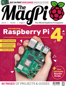 The MagPi - July 2019