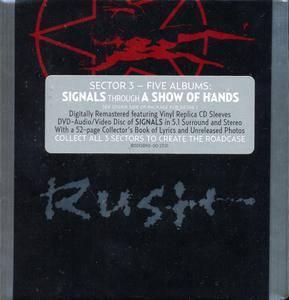 Rush - Sector Three (2011) [5CD + DVD Box Set] Repost
