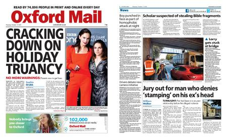 Oxford Mail – October 17, 2019