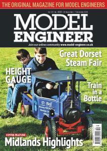 Model Engineer – 23 November 2018