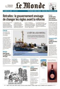 Le Monde du Vendredi 28 Juin 2019