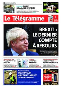 Le Télégramme Concarneau – 28 janvier 2020