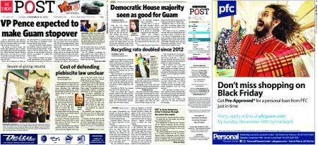 The Guam Daily Post – November 18, 2018
