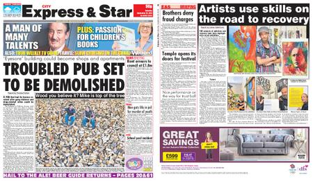 Express and Star City Edition – September 28, 2019