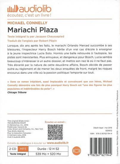 """Michael Connelly, """"Mariachi Plaza"""""""
