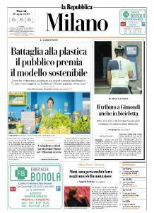 la Repubblica Milano - 20 Agosto 2019
