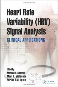 Heart Rate Variability (HRV) Signal Analysis: Clinical Applications