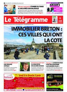 Le Télégramme Ouest Cornouaille – 25 janvier 2021